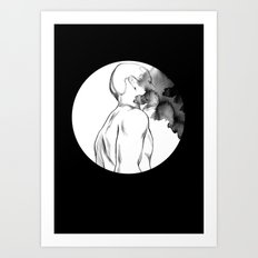 Full Moon Madness Art Print
