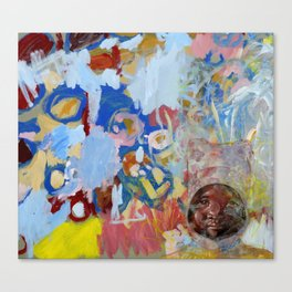 Swazi Art 2 Canvas Print