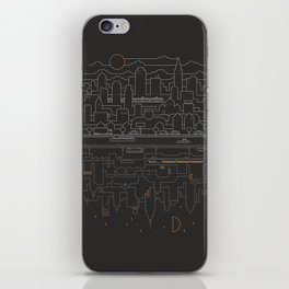 City 24 iPhone Skin