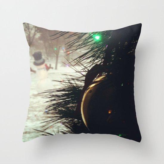 Almost Christmas Throw Pillow