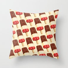 Ice Lolly Pattern - Fab Throw Pillow