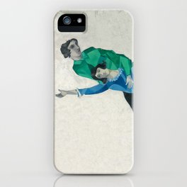 Homage to Chagall iPhone Case