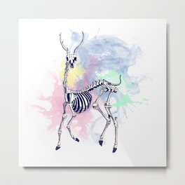 Oh deer skeleton #1 Metal Print