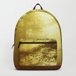 All Is wet - Misty Fall Forest Backpack