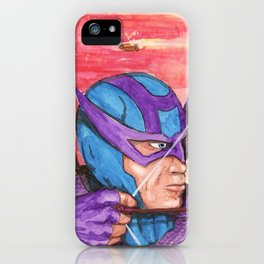 Hawkeye iPhone Case