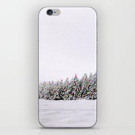Festive Collage iPhone Skin