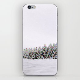 Festive Collage iPhone Skin