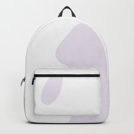 Abstract Shape Series - Lavender Mountains Backpack