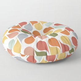 retro pattern no4 Floor Pillow