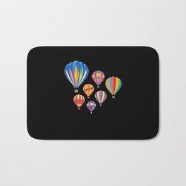 Hot Air Balloon Balloning Bath Mat