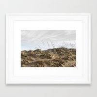 dune Framed Art Prints featuring Dune by Nancy J's Photo Creations