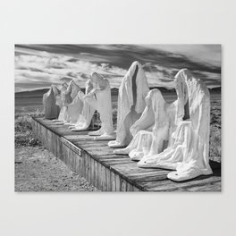 Ghosts of the Desert Canvas Print