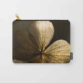 Autumn Scene - Dry Petals with Golden Sunset Light #decor #society6 #buyart Carry-All Pouch