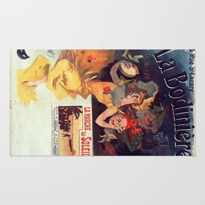 Vintage poster - La Bodiniere Rug