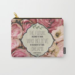The Future of Peonies Carry-All Pouch