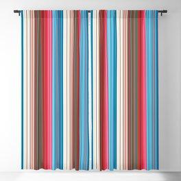 Cowboy Stripes Blackout Curtain