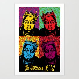 The Notorious BIG Art Print