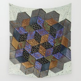 Tumbling Blocks #4 Wall Tapestry