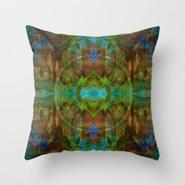 Melonium Deo Throw Pillow