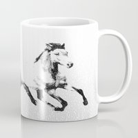 courage Mugs featuring Courage by 1551 MX