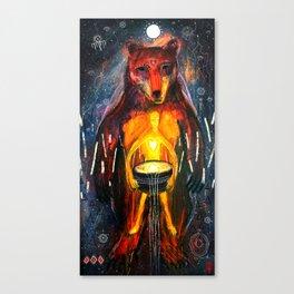 BeornHeorte - Bear Heart Canvas Print