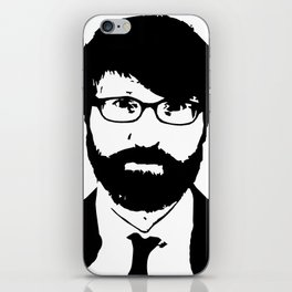 chuck klosterman iPhone Skin
