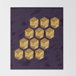 Wukong Clones Throw Blanket
