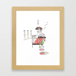 Sleepwalking Framed Art Print