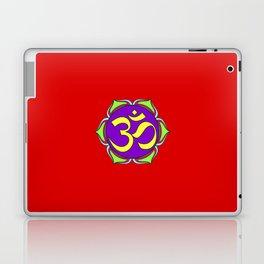 om sacred sound symbol Laptop & iPad Skin