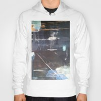 broadway Hoodies featuring Midnight Broadway East No.28 by Xi By Xi Chen