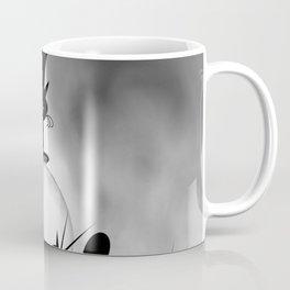 dreaming of mooncats bw -1- Coffee Mug