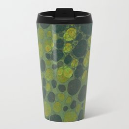 """Art Deco Abstract Crocodile"" Travel Mug"