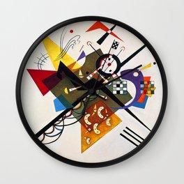 Kandinsky On White II Wall Clock