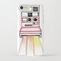 polaroid iPhone & iPod Cases featuring Polaroid by Ilariabp.art