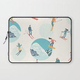 Ski pattern Laptop Sleeve