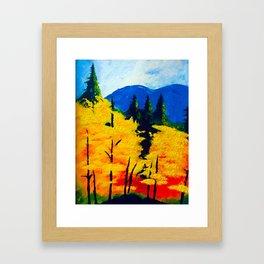 One Autumn Morning Framed Art Print