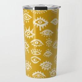 Mystic Eyes – Marigold Palette Travel Mug
