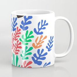 Henri Matisse, Cut Out Colored Papers 1953 Artwork for Wall Art, Prints, Posters, Tshirts, Men, Women, Kids Coffee Mug