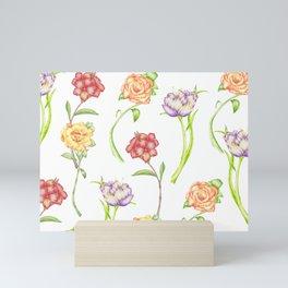 Flower Showers Mini Art Print