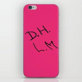 Senior Scribe DH LM iPhone Skin