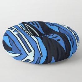 ethnic background folk africans endless pattern Floor Pillow