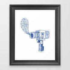 Professional Dreamer (Blue) Framed Art Print