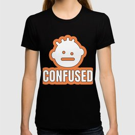 Cool & Confusing Tshirt Design Confused T-shirt