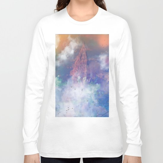 Towards the mount Olympus Long Sleeve T-shirt