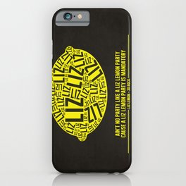 30 rock - liz lemon iPhone Case