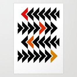 Arrows Graphic Art Design Art Print