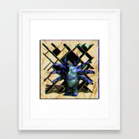 team fortress Framed Art Prints featuring Fortress by Jheri Evans