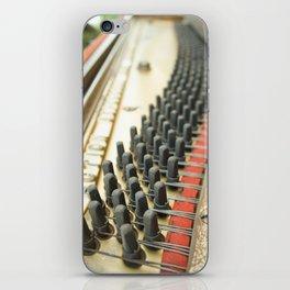 On Key Abandoned Piano Urbex, Urban Exploration, Music, Musical, Instrument iPhone Skin
