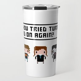 The IT Crowd Characters Travel Mug