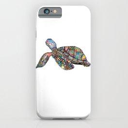 Colourful Turtle iPhone Case